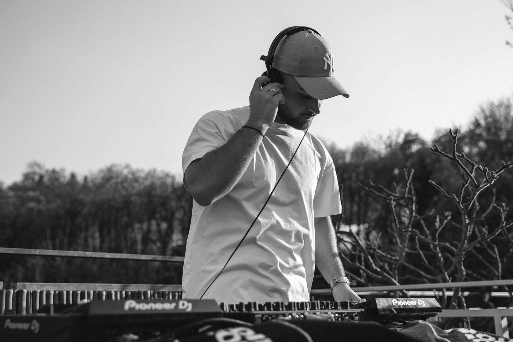 DJ Rooftop Livestream Videoproduktion No Synonym
