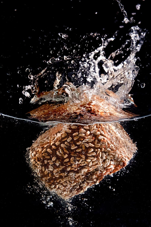 Basti Kaspar foodphotography bread water