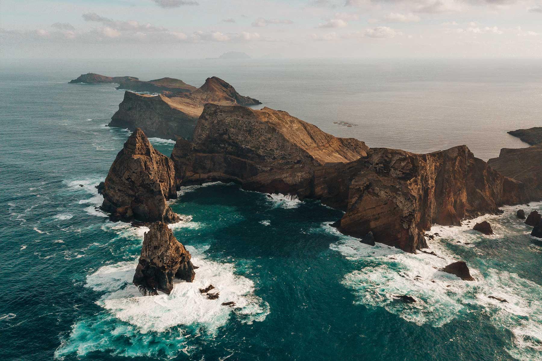 Madeira Funchal Coast Drohne Portugal