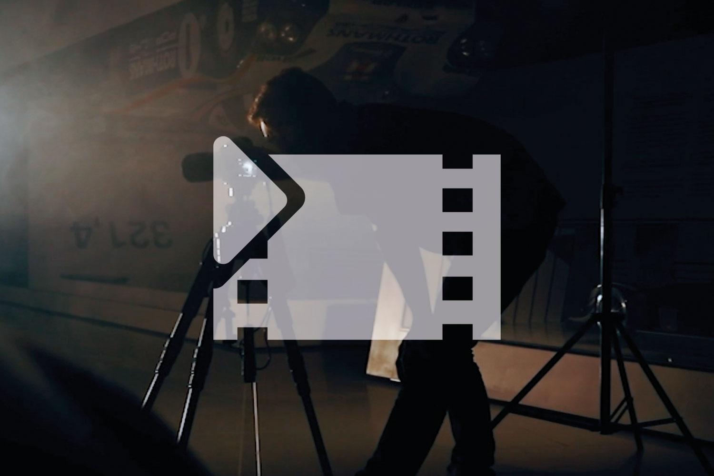 porsche nachts im museum commercial video